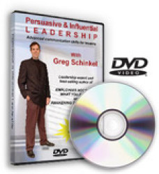 Persuasive and Influential Leadership