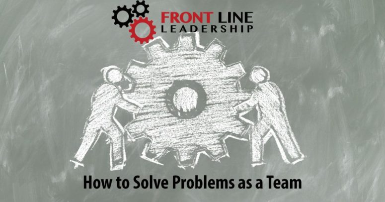 How to Solve Problems as aTeam