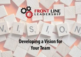 Developing a Vision for Your Team