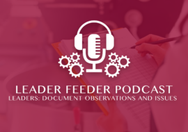 Leaders: Document Observations and Issues